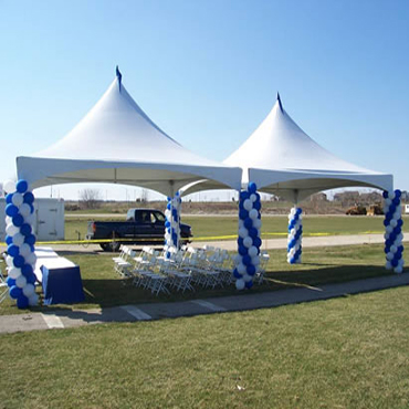 20X40 HIGH PEAK TENT & Tents High Peak Tent Rentals Free Span Tent Rental Canopies ...