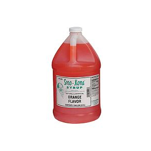 ORANGE SNOW CONE SYRUP
